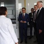 Jarosław Gowin z wizytą w Centrum B&R Grupy Azoty