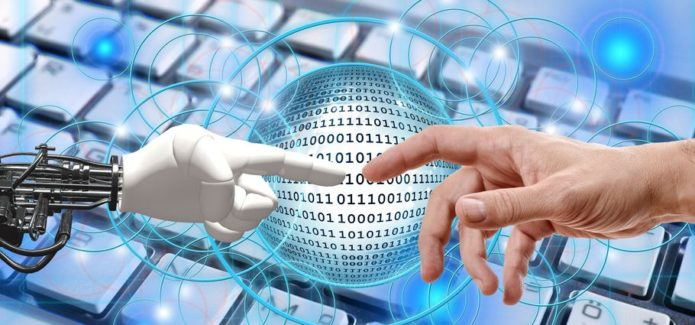 Przemysł 4.0 robot