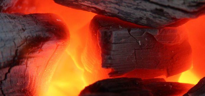 węgiel spalanie
