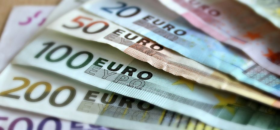 Euro banknoty
