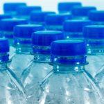 butelki PET niebieskie