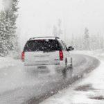 samochód zima