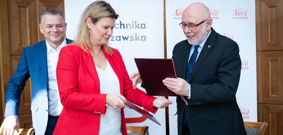 Anwil i Politechnika Warszawska razem na rzecz innowacji