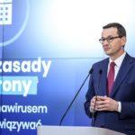 Premier: gospodarka może być zamknięta przez dłuższy czas