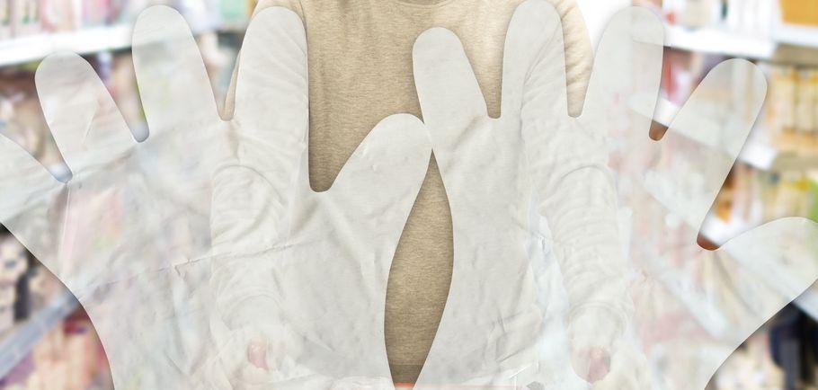 rękawice jednorazowe z biotworzywa