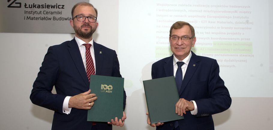 Sieć badawcza Łukasiewicz - umowa z AGH