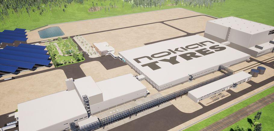 nokian tyres fabryka Dayton