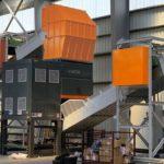 Niższe koszty transportu i składowania materiału do recyklingu