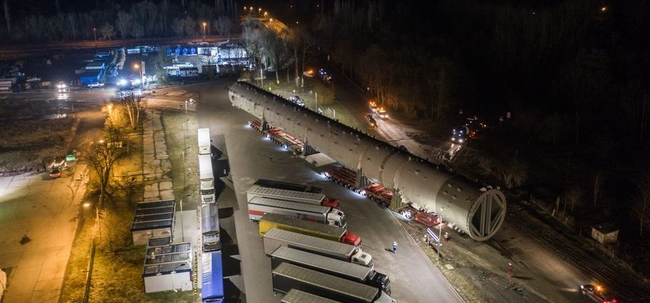 Grupa Azoty splitter transport
