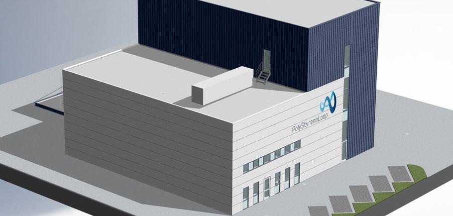 PolyStyreneLoop Terneuzen Holandia recykling EPS