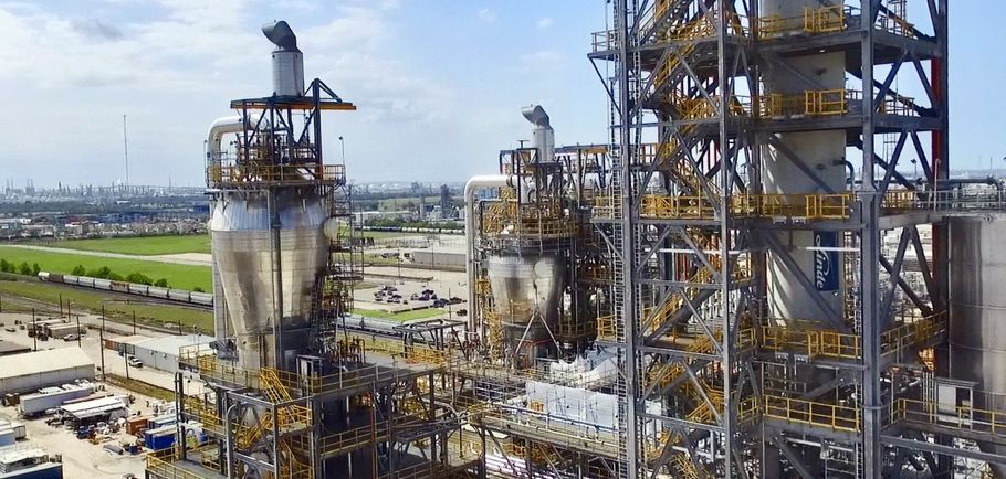 Braskem zakłady w La Porta Teksas