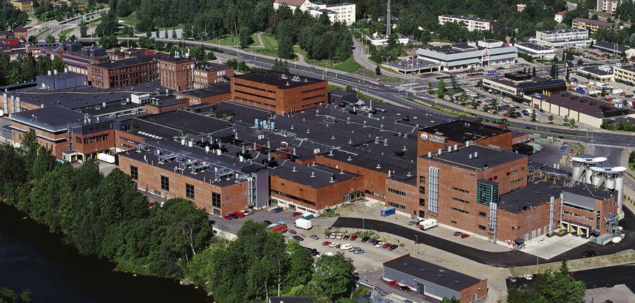 Nokian Tyres fabryka Nokia Finlandia